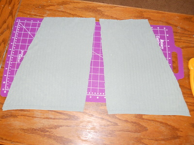 How to sew a ruffle skirt. Ruffle Bustle Skirt - Step 6