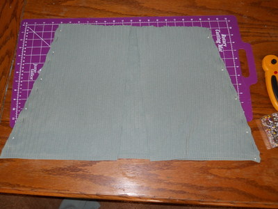 How to sew a ruffle skirt. Ruffle Bustle Skirt - Step 7