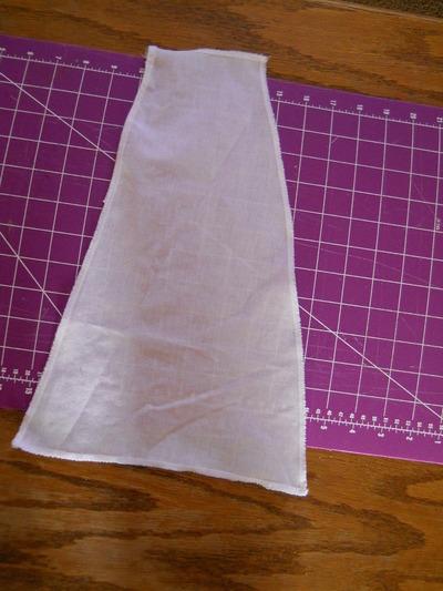 How to sew a ruffle skirt. Ruffle Bustle Skirt - Step 9