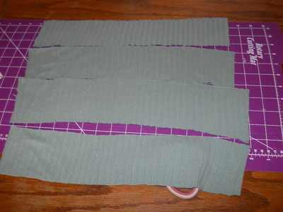 How to sew a ruffle skirt. Ruffle Bustle Skirt - Step 16