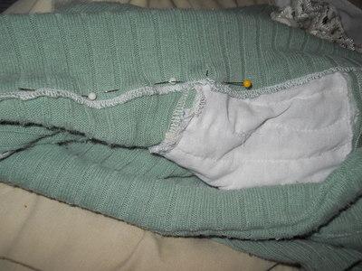 How to sew a ruffle skirt. Ruffle Bustle Skirt - Step 20