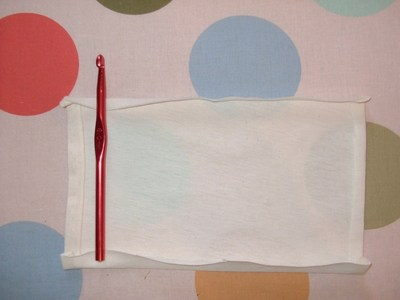 How to sew a roll-up pouch. Crochet Hook Case - Step 2