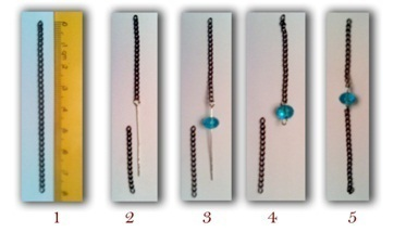 How to make a necklace. How To Make Such A Unique Necklace - Step 5