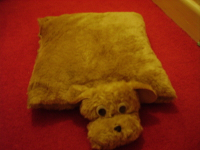 How to make a dog plushie. Dog Pillow Toy - Step 5