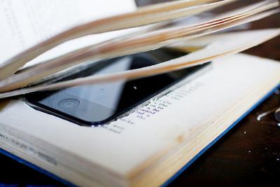 How to make a book box. iPhone Book Case - Step 6