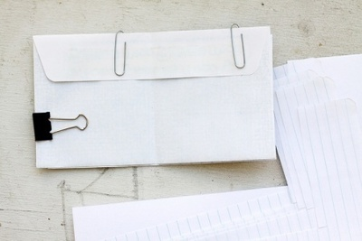 How to make a bound book. Pocket Notebook - Step 2