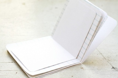 How to make a bound book. Pocket Notebook - Step 6