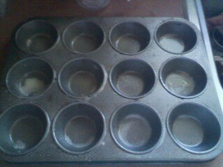 How to bake a savoury muffin. Easy Corn Dog Muffins - Step 2