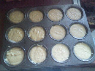 How to bake a savoury muffin. Easy Corn Dog Muffins - Step 5