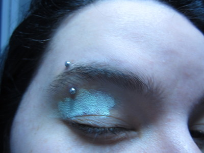 How to create a makeup look. Cover Your Black Eye - Step 1