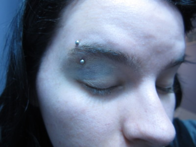 How to create a makeup look. Cover Your Black Eye - Step 2