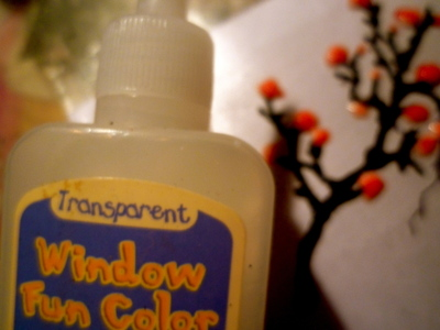 How to recycle a glue necklace. Window Colour Pendant - Step 5