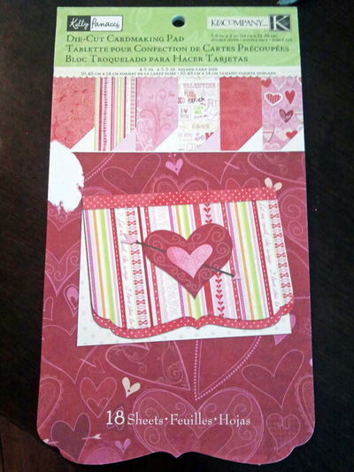 How to make a collages. Homemade Valentine's Day Cards - Step 1