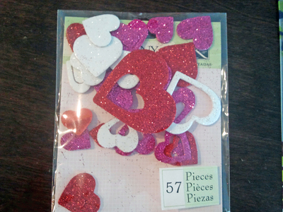 How to make a collages. Homemade Valentine's Day Cards - Step 2
