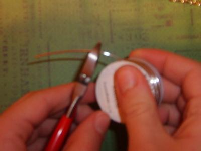 How to recycle a puzzle piece bracelet. Puzzle Piece Bracelet - Step 5