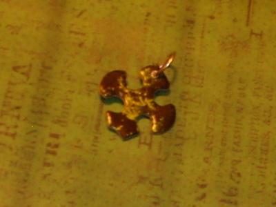 How to recycle a puzzle piece bracelet. Puzzle Piece Bracelet - Step 7