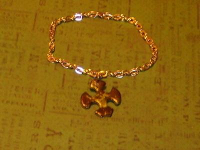 How to recycle a puzzle piece bracelet. Puzzle Piece Bracelet - Step 8