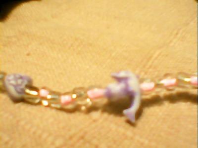 How to make a beaded bracelet. Dolphin Lover Bracelet - Step 6