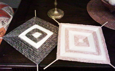 How to make string art. Simple String Art - Step 8