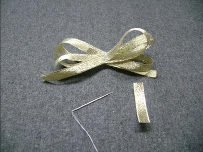 How to make a hairband / headband. Free Fashionable Headband Tutorial - Step 5