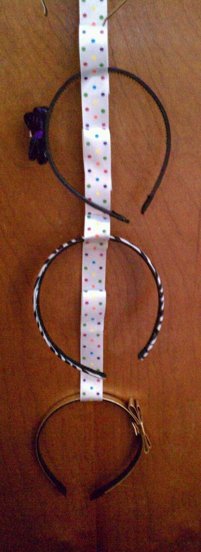 How to make a hair accessory holder. Make Your Own Headband Holder - Step 5
