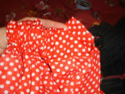 How to make a costume skirt. Minnie Mouse Inspired Skirt - Step 10