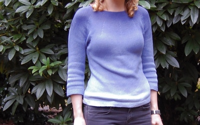 How to dye a dyed sweater. Dip Dye Sweater - Step 5
