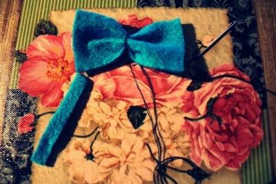 How to make a hair bow. Cute Hairbow. ? - Step 4