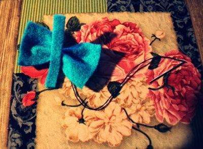 How to make a hair bow. Cute Hairbow. ? - Step 6