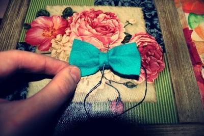 How to make a hair bow. Cute Hairbow. ? - Step 8