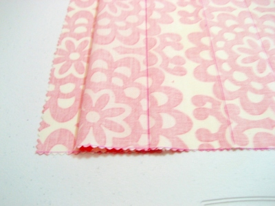 How to make an envelope clutch. Soy Envelope Clutch Tutorial - Step 7