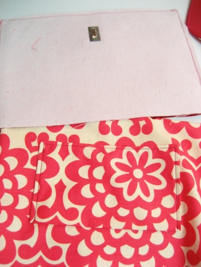 How to make an envelope clutch. Soy Envelope Clutch Tutorial - Step 47