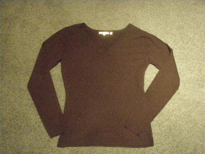 How to embellish an embellished sweater. Pearl Jumper - Step 1