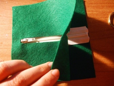 How to make a charm / keyring. Keyring Pouch - Step 5