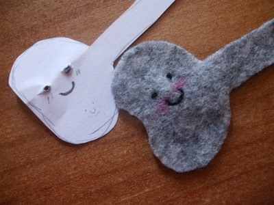 How to make a charm / keyring. Keyring Pouch - Step 8