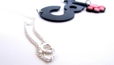 How to make a shrink plastic pendant. Cricut Name Necklace - Step 10