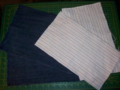 How to sew a bow clutch. Miu Miu Inspired Clutch - Step 1