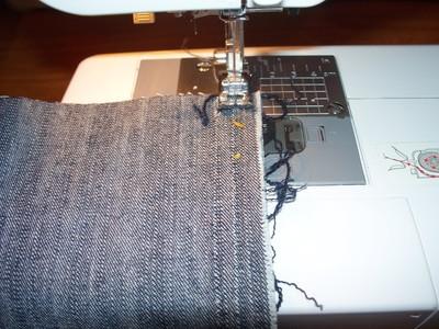 How to sew a bow clutch. Miu Miu Inspired Clutch - Step 2