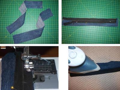 How to sew a bow clutch. Miu Miu Inspired Clutch - Step 6