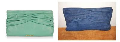How to sew a bow clutch. Miu Miu Inspired Clutch - Step 12