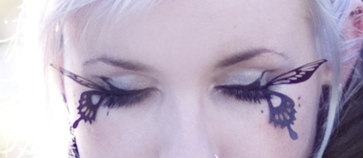 How to makeover your eyelashes. Butterfly Makeup - Step 4
