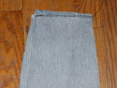 How to make a mini skirt. Funky Plaid Corset Skirt - Step 4