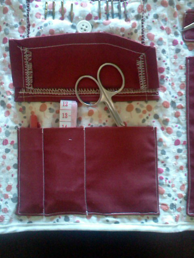 How to make a sewing kits. Hand Made Sewing Kit! - Step 4