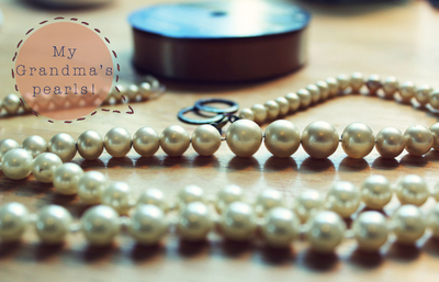 How to make a pearl necklace. Diy Pearl Necklace - Step 1