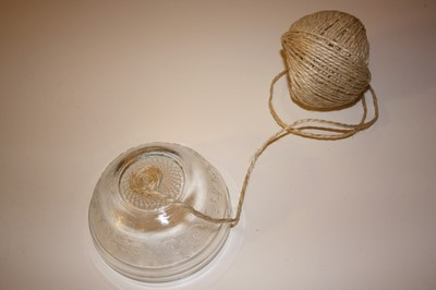 How to make a rope basket. Rope Bowl - Step 3