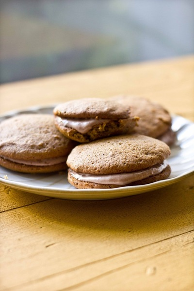 How to bake a whoopie pie. Maple Pumpkin Whoopie Pies With Chocolate Cream Cheese Filling - Step 9