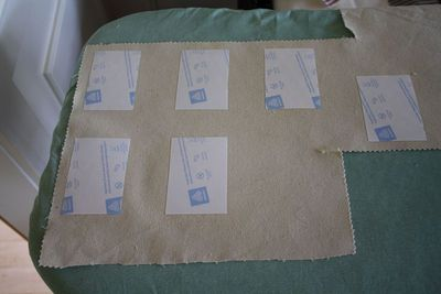 How to make a bunting / garland. 4th Of July Pennant Banner - Step 4
