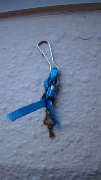 How to make a charm / keyring. Lovely Bag/Purse/Wallet Charm - Step 8
