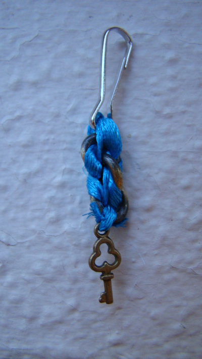 How to make a charm / keyring. Lovely Bag/Purse/Wallet Charm - Step 10