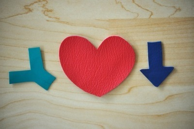 How to make a leather necklace. Heart + Arrow Necklace - Step 2